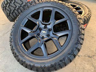 "22"" Chevy Silverado Wheels Tahoe Suburban GMC Sierra Yukon Tires Rims for Sale in Rio Linda,  CA"