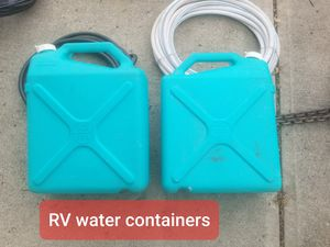 Rv water containers 10$ OBO for Sale in Washington, PA