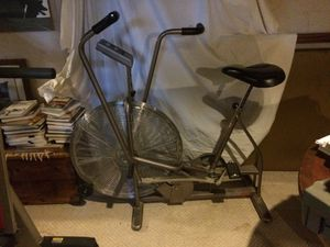 Gray Schwann Airdyne indoor stationary bike professional style for Sale in Pittsburgh, PA
