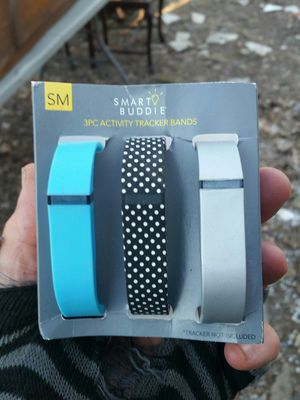 Fitbit smart buddy tracking bands for Sale in Stewartsville, NJ