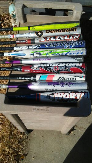 All 10 bats $100.00 Firm for Sale in Madera, CA