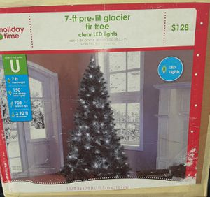 7ft pre-lit glacier Christmas Tree for Sale in Glendale, AZ