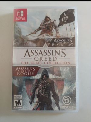 New Nintendo Switch Assassin's Creed Collection $25 price is FIRM Message if interested CROSS POSTED for Sale in Salinas, CA