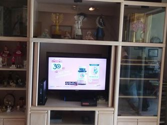 3 PIECES CABINET WITH T.V RADIO SD,DVD for Sale in Delray Beach,  FL