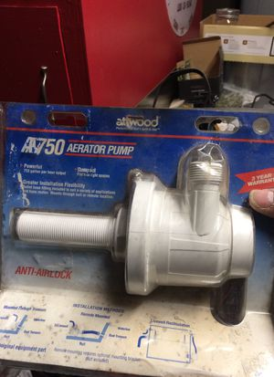 Atwood a 750 aerator pump for Sale in Lodi, CA