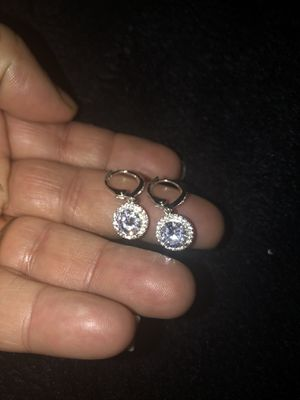 Diamond cluster earrings for Sale in Columbus, OH