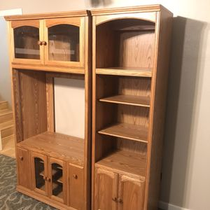 Oak Bookshelves for Sale in Bremerton, WA