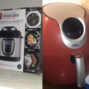 Pressure Cooker & Power Air Fryer for Sale in Lyman, SC