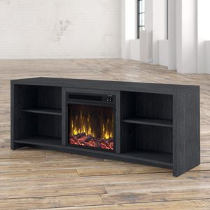 St. Philips TV Stand with Electrical Fireplace for Sale in Irvine, CA