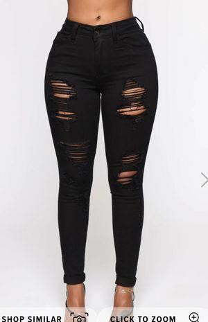 Fashion Nova black Jeans for Sale in Ontario, CA