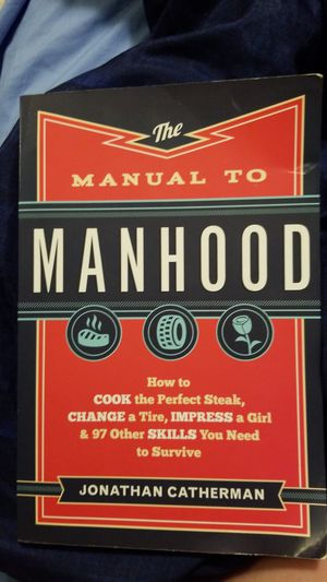 Manual to manhood book for Sale in Chippewa Falls, WI