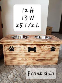 Handmade dog feeder for Sale in Shinnston,  WV