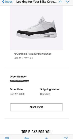 Air Jordan 3 Retro Fragments for Sale in Metairie, LA