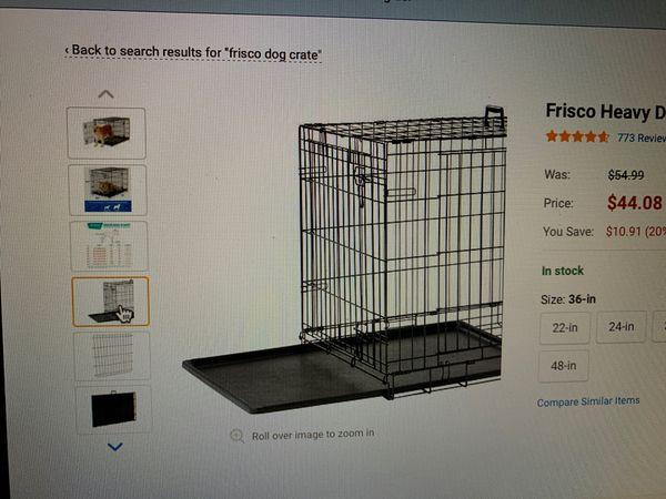 """Frisco Dog Crate 2 door 36"""""""
