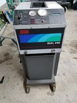 Snap-on Dual 3412 A/C recovery machicne, recycle, recharge for Sale in Fort Lauderdale,  FL
