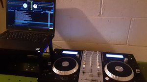 DJ equipment good deal 650 take all with laptop & speakers for Sale in Los Angeles, CA