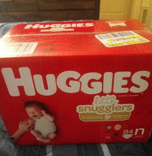 Newborn huggies new box 20$ for Sale in Denver, CO