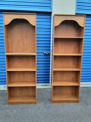 Bookshelves (2) for Sale in Tampa, FL