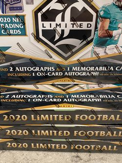 2020 Panini Limited NFL Football FOTL Hobby Box for Sale in Bellevue,  WA