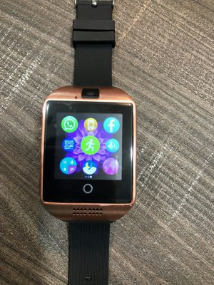 Brand new smartwatch HD big screen and speaker with camera unlocked touchscreen works with any phone for Sale in Plantation, FL