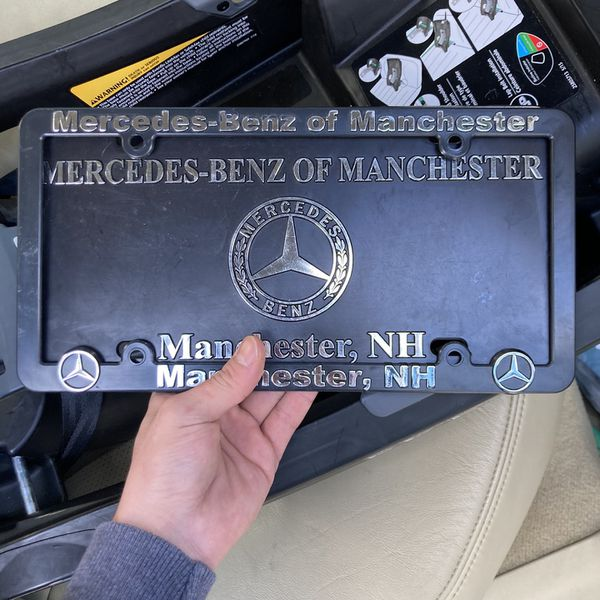 Mercedes Plate