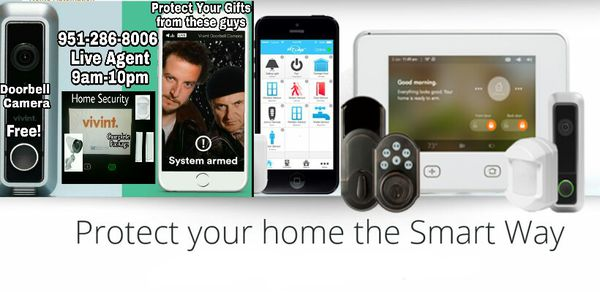 Home security system with free doorbell camera and Amazon Echo included Cyber Monday today only