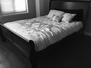 New Black Queen Sleigh Bed for Sale in Washington, DC