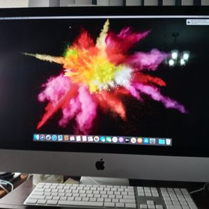 "iMac 27"" Late 2015 Retina 5K Display, Intel Core i5@3.2Ghz ,32gb Ram, 1TB HDD, AMD Radeon R2 2gb Graphics, MacOS Catalina. Comes with Apple keyboard for Sale in Jacksonville, FL"