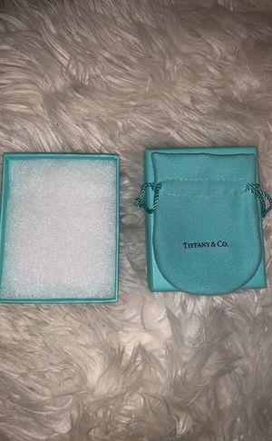 Empty Tiffany's Box/Bag for Sale in Austin, TX