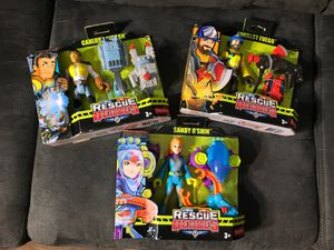 Rescue Heroes 3 for $10 new for Sale in Bellflower, CA