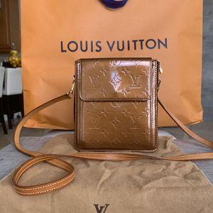 Louis Vuitton: Vernis Mott Bag (Bronze) for Sale in Hollywood, FL