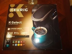 Keurig k-select k80 brand new sealed never used black color for Sale in Houston, TX