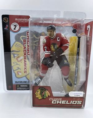 RARE Chris Chelios Variant Blackhawks Mcfarlane Toys NHL Hockey Action Figure for Sale in West Palm Beach, FL