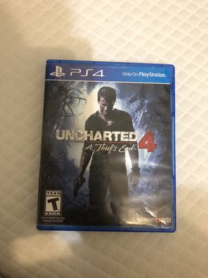 Uncharted 4 for PS4 for Sale in Boston, MA