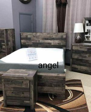 🧿BRAND NEW 🧿Derekson Gray Panel Bedroom Set | B200 for Sale in Jessup, MD