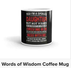 Words of Wisdom Coffee Mug for Sale in Owensboro, KY