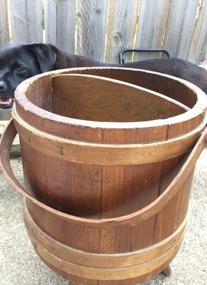 Barrel magazine or plant holder for Sale in Parma, OH