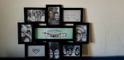 Photo wall frame for Sale in Visalia,  CA