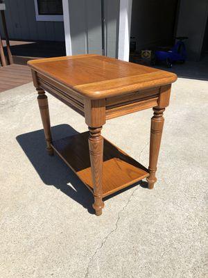 Solid Oak End Table for Sale in Crockett, CA