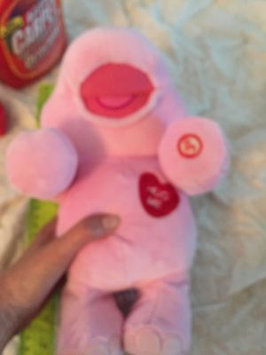 Singing hug me pink hippopotamus toy for Sale in Cocoa, FL