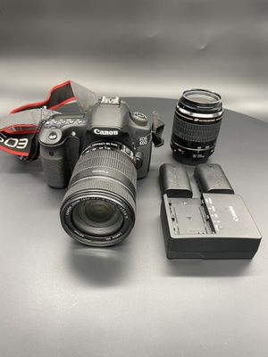 Cannon 60D camera with Lens Kit for Sale in Vista, CA