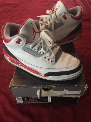 Jordan retro 3 for Sale in Boston, MA
