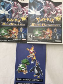 Nintendo Wii Pokémon Battle Revolution Disc Have Some Scratches But Playable for Sale in Reedley,  CA