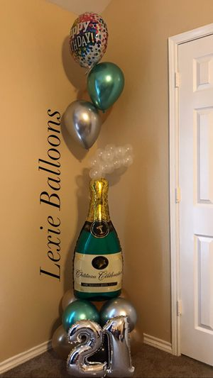 Champagne balloons for Sale in Dallas, TX