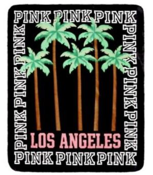 Victoria's Secret Pink Los Angeles Sherpa Blanket,New for Sale in Richmond, VA