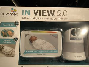 In view 2.0 5.0 digital color video monitor for Sale in Burlington, NJ