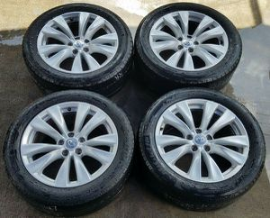 INFINITI M37 M56 M35H OEM WHEELS RIMS WITH TIRES (SET OF 4) for Sale in Fort Lauderdale, FL