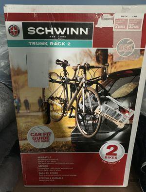 Schwinn trunk rack 2 bikes for Sale in Columbus, OH
