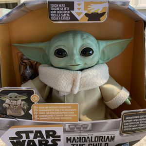 """New Star Wars Mandalorian Baby Yoda The Child Animatronic Edition 7.2"""" Toy 25 sounds & motion for Sale in Las Vegas, NV"""
