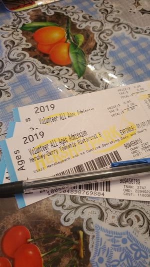Hershey park tickets for Sale in Harrisburg, PA
